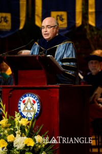 Provost Mark L. Greenburg honors teachers at Convocation 2011