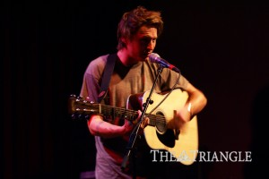 "Singer/songwriter Ben Howard performed at the World Cafe Live March 27 as part of record label Communion's ""Austin to Boston Tour."" The opening act featured Bear's Den."