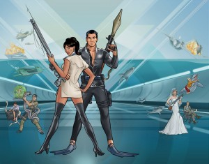 The Archer Live! tour made its way to Philadelphia Friday, Jan. 11 at the Theatre of Living Arts. Fans gathered to watch a panel consisting of 'Archer' voice actors H. Jon Benjamin, Lucky Yates, Aisha Tyler and Chris Parnell.