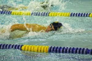 Following tough senior day losses to Delaware and the Northeastern women, the Drexel men's and women's swim teams rebounded with routs over Howard University.