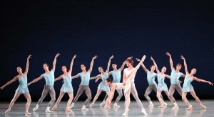 "The Pennsylvania Ballet's recent performance at the Merriam Theater featured collaborative work from choreographers George Balanchine, Christopher Wheeldon and Twyla Tharp. Pieces include Balanchine's ""Square Dance,"" Wheeldon's ""After the Rain"" and Tharp's ""Push Comes To Shove."""