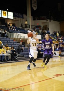 Senior guard Hollie Mershon and the Drexel women's basketball team begin postseason play against a weak William & Mary team at the CAA Championships March 15.