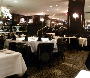 Located at 1701 Locust St., Prime Rib restaurant transports its diners back to the 1940s with its supper club inspired decor. The eatery serves both surf and turf options.