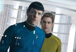 "Released May 17, ""Star Trek Into Darkness"" is a sequel to 2009's ""Star Trek."" The film was directed by J.J. Abrams and features an all star cast portraying the iconic characters from the original television series. Chris Pine (right) and Zachary Quinto reprise their roles as Capt. James Kirk and Comdr. Spock, respectively."