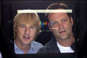 "The comedy duo of Vince Vaughn and Owen Wilson star in Shawn Levy's new film, ""The Internship"" (out June 7). The highly comedic movie tells the story of two older salesmen who lose their jobs and end up as interns at Google headquarters  in California."