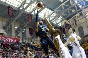 Shooting guard Chris Fouch attempts a layup during Drexel's 61-59 victory over the University of pennsylvania last season at the palestra. Fouch would suffer a seasonending ankle injury later in the game. Now healthy and back for a sixth season, the senior is ready to take on more responsibility as a vocal leader.