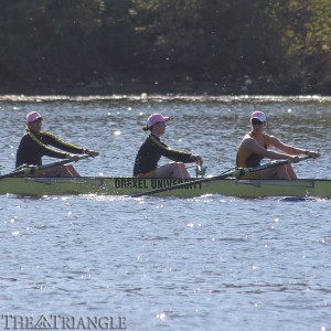 The Drexel men's and women's crew teams finished the fall season strong with seven total wins at the Frostbite Regatta on the Cooper River in Cherry Hill, N.J.