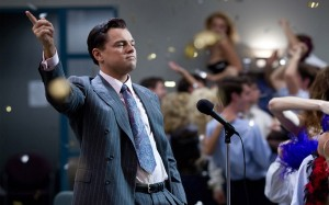 "Photo Courtesy Paramount Pictures Leonardo Di Caprio (pictured) stars in Martin Scorsese's ""The Wolf of Wall Street"" as Jordan Belfort, an ambitious, charismatic and wildly successful salesman who is also the narrator of the film."