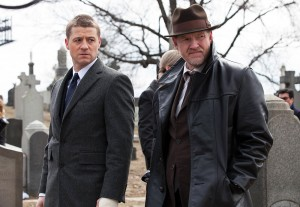 "Photo Courtesy Jessica Miglio ""Gotham,"" the new drama from Fox, follows a number of characters in the city of Gotham before the rise of Batman. The show premiered Sept. 22. Ben McKenzie (pictured left) plays a younger version of the character Commissioner James Gordon."
