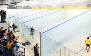 The Drexel University squash team started its season with a loss to Franklin and Marshall Nov. 19. (Photo Courtesy - DrexelDragons.com)