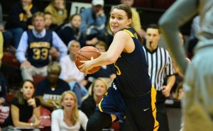 Sarah Curran and the Dragons won their first two games of 2015, both against CAA competition. (Photo Courtesy - DrexelDragons.com)