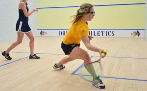 Squash prepares for the first matchup of the new year, against Dartmouth College. (Photo Courtesy - Drexeldragons.com)