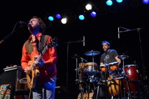Ryan Miller and Brian Rosenworcel of Guster play at the TLA April 24. Shane O'Connor - The Triangle