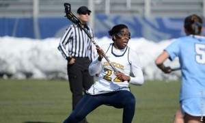 Junior midfielder Milan White approaches the Columbia University defense. (DrexelDragons.com)