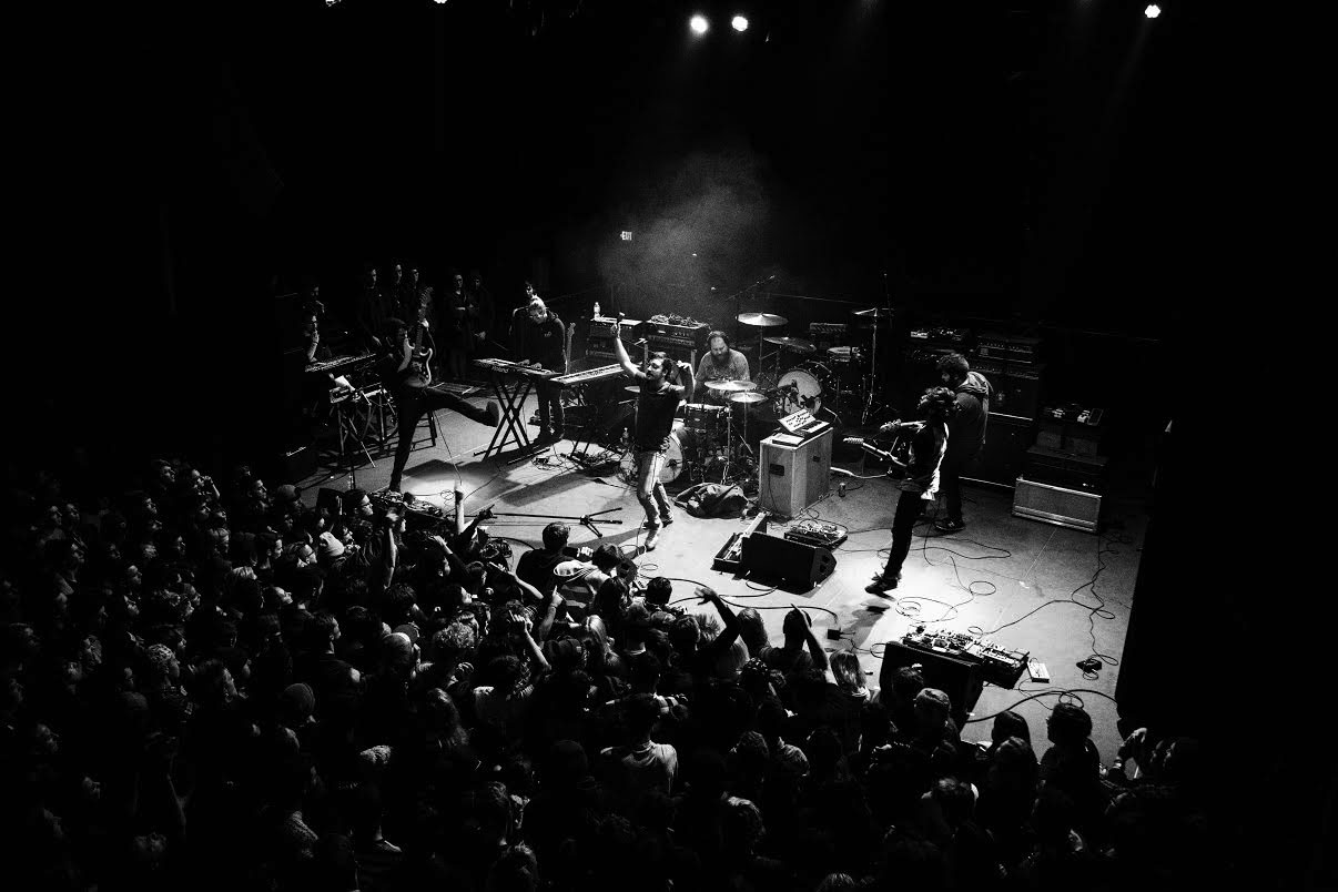 TWIABP played Union Transfer alongside acts such as Foxing, This Town Needs Guns and Brightside.