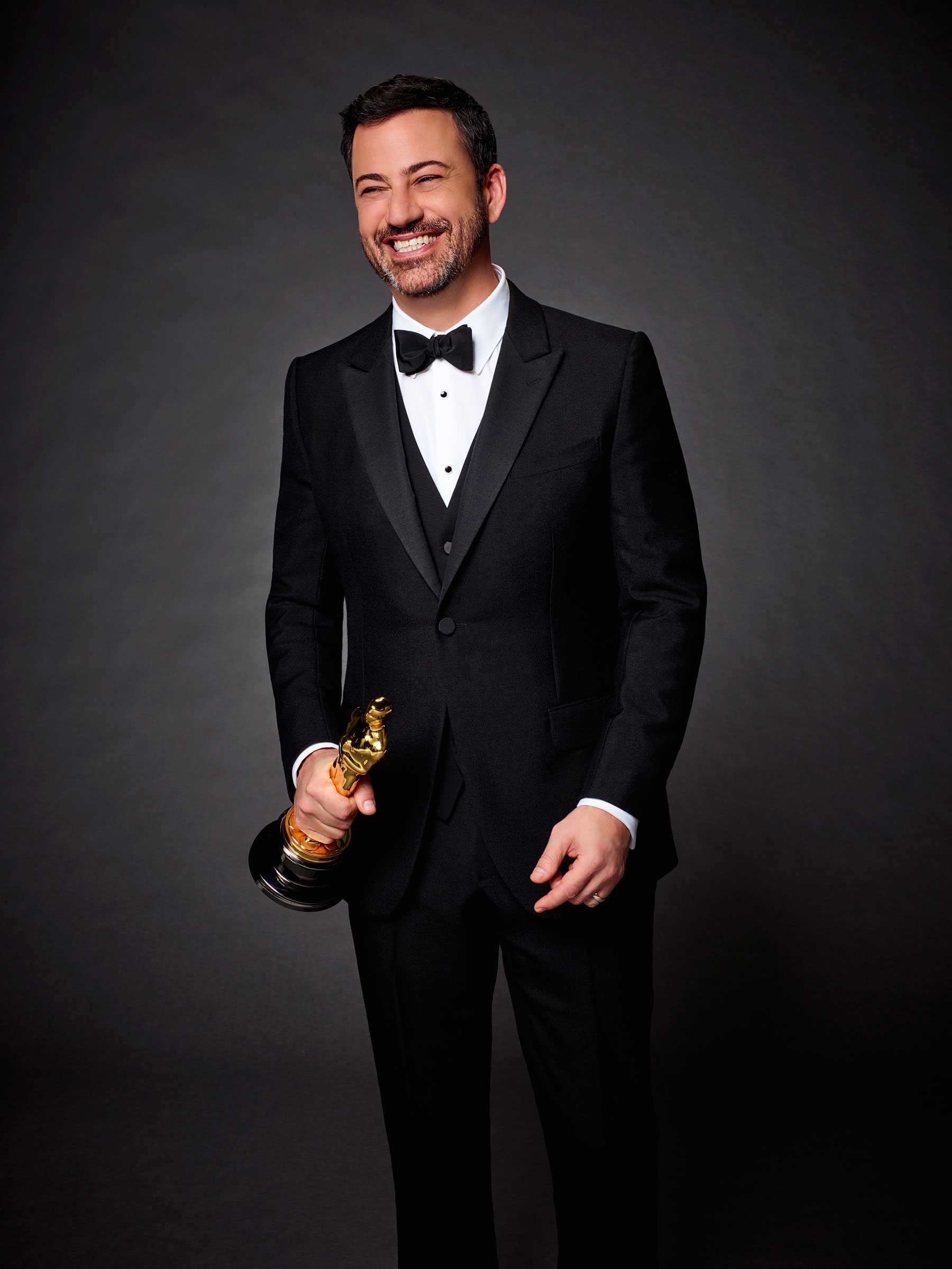 Late-night talk show host, producer and comedian Jimmy Kimmel will host the 89th Oscars® to be broadcast live on Oscar® SUNDAY, FEBRUARY 26, 2017, on the ABC Television Network. (Photo: ABC/Jeff Lipsky)