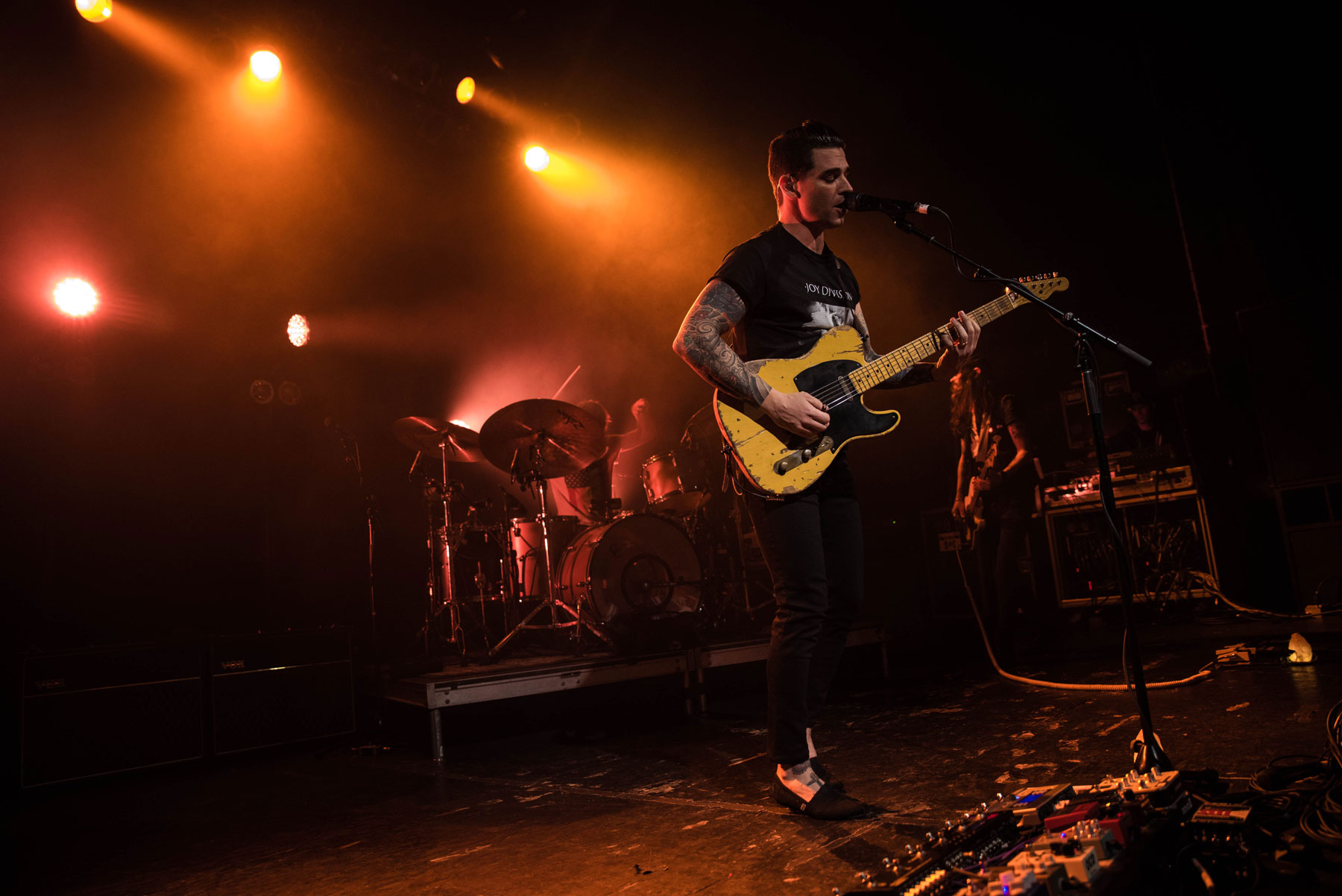 Dashboard Confessional sold out two headlining shows at the TLA this January. (Photo: Lexi Shannon, The Triangle)